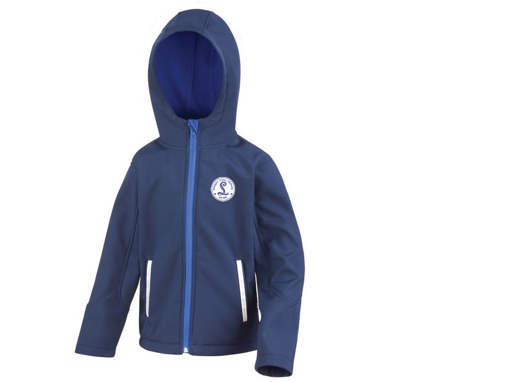 Hooded Soft Shell Jacket Junior