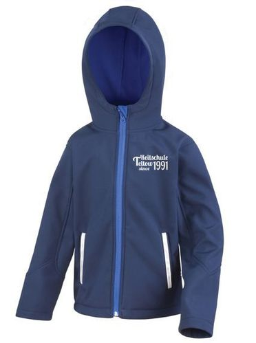 Hodded Softshell Jacke Junior